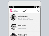 Like Page For Dribbble
