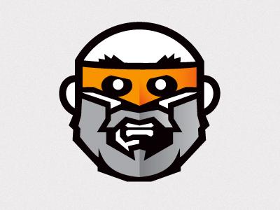 Office Hero 1 illustration apparel orange black grey