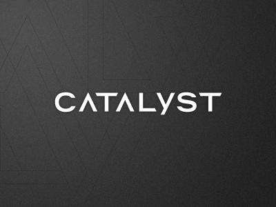 Catalyst logotype logo mark identity type texture sports