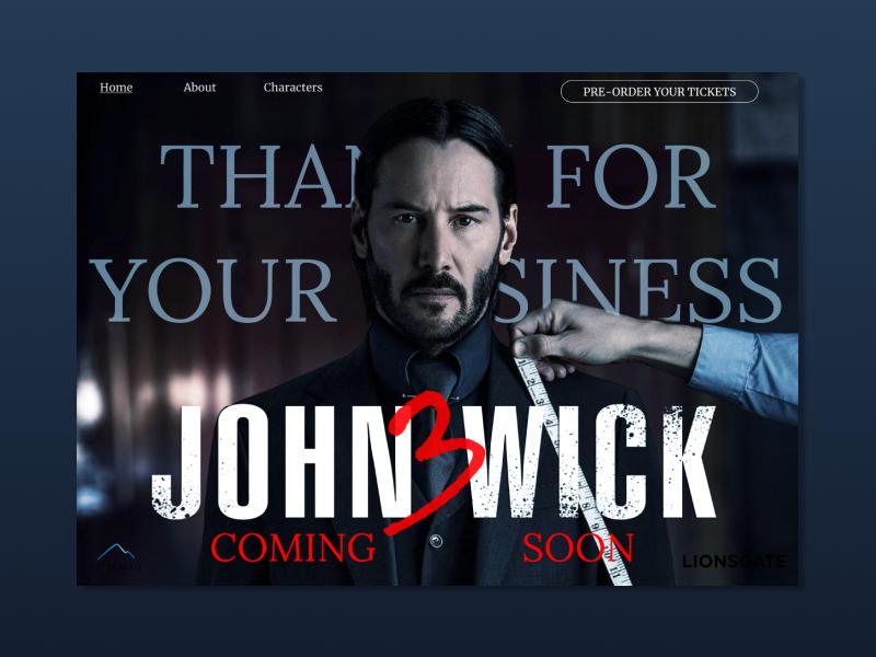 John wick dribbble