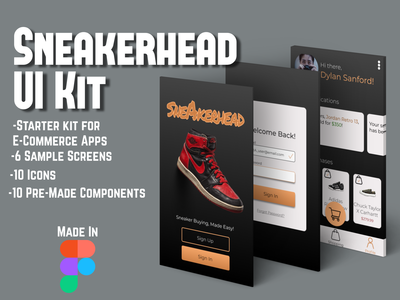 Sneakerhead UI Kit