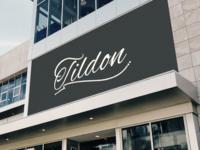 Tildon Sign Mockup