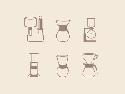 My Favorite Coffee Brew Methods