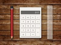 DailyUI 004-Calculator