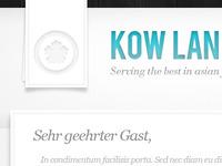 Kow Lan - Asian Catering
