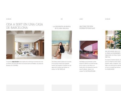 Layout exploration #02 design layout photography type typography editorial ui