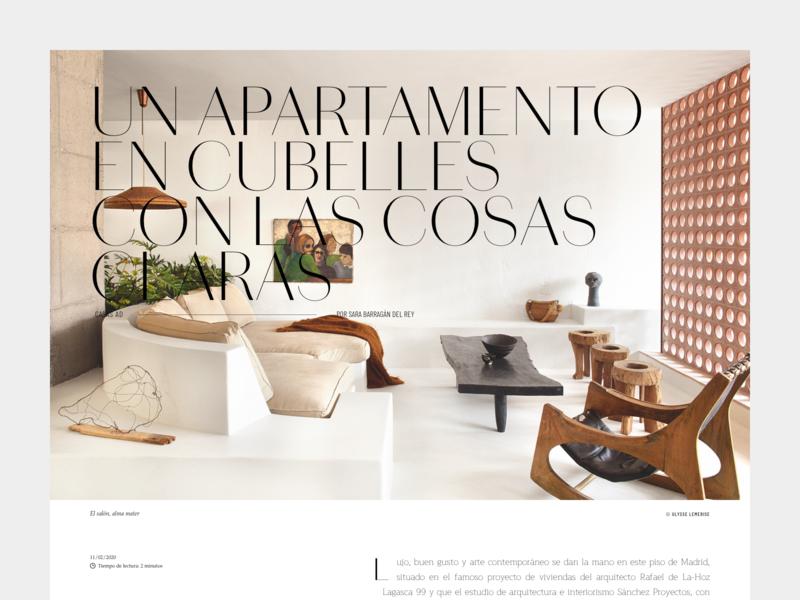Layout exploration #04 desktop decoration deco ui photography layout design typography editorial type