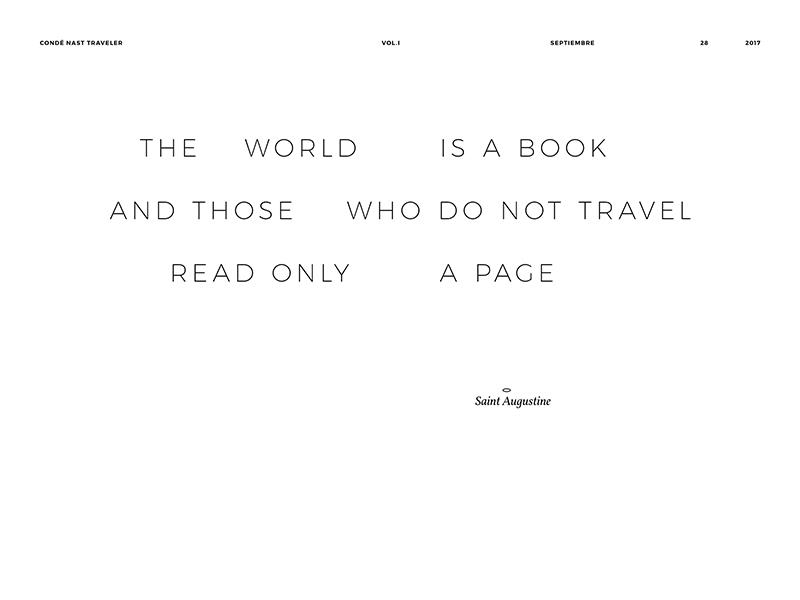 Travel quote #03 typography type quote travel