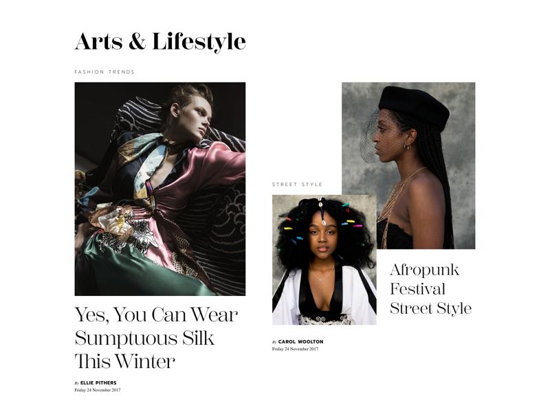 Layout exploration #02 photography editorial magazine fashion type layout