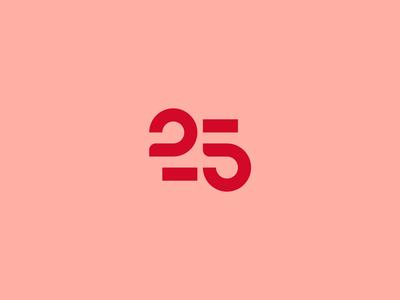 25 / Unused proposal 25 quarterly quarter illustration motion logo design typography editorial type