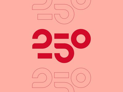 250 / Unused proposal 250 vector brand illustration doodle logo design motion editorial typography type