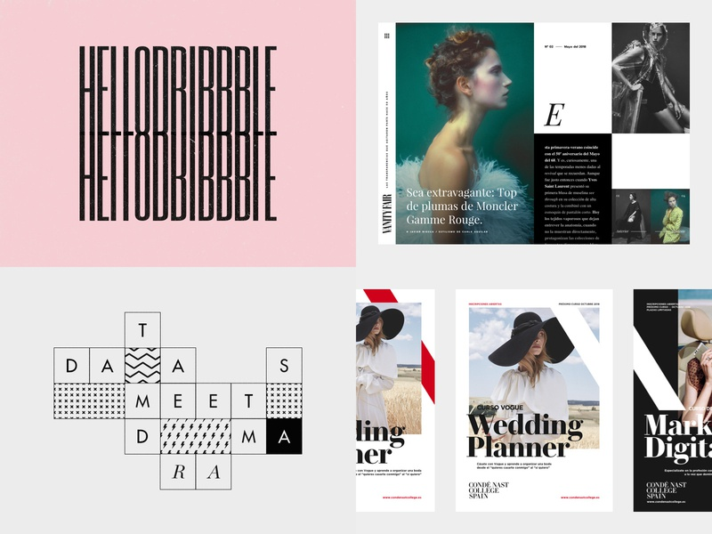 #Top4Shots ux vector ui photography layout design black typography editorial type