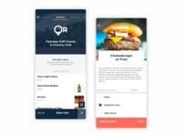 ForeOrder Golf Food Delivery App | Consumer | Product Design