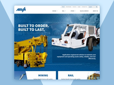 Commercial Industrial Website Redesign