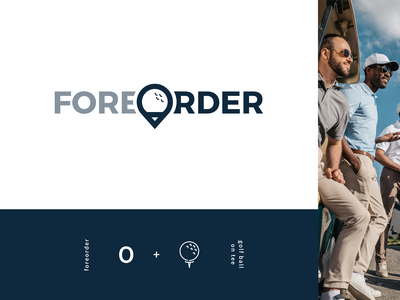 Foreorder | Golf Food & Drink Ordering App Brand