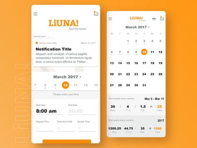 LiUNA! Union | Labor Time Tracking iOS App