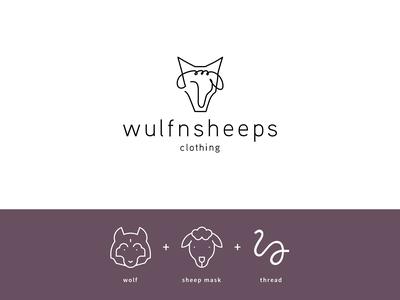 Wulfnsheeps | Logo Build-up Rationale