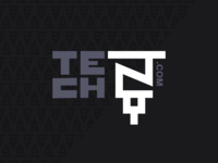 Tech NY | Logo Concept 3 Inverted