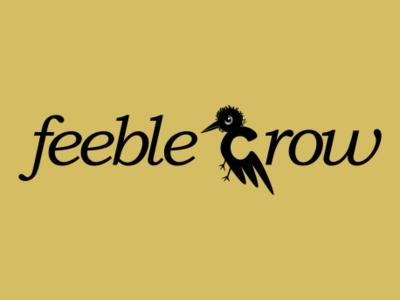 Feeble crow inkscape vector logo