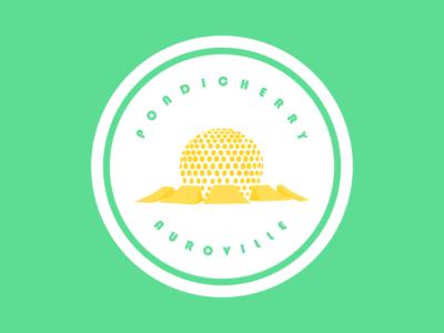 Sticker for AUROVILLE