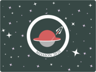 weekly warm up NO 13 Mission Patch