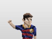 Pixel Messi