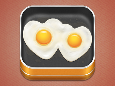 Fried Eggs icon fried egg