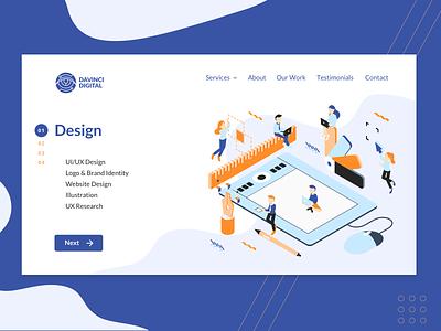 DaVinci Digital - Design Services design illustration branding website web
