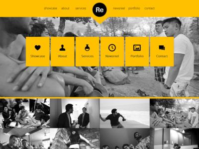 Renova Dribbble bootstrap creative designova easy to use flat html5 metro minimal one page portfolio responsive seo simple unique