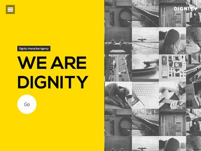 Dignity Theme by Designova creative one-page portfolio html5 designova themeforest
