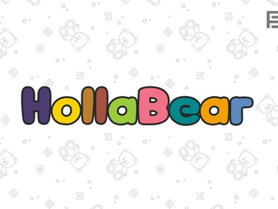 HollaBear - Cute & Playful Kids Font display typeface display font display webfonts typography typeface. lettering typeface designer typeface design typefaces typeface type selling sell minimalist minimal font family font design fonts font designova