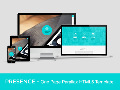 PRESENCE - One Page Parallax HTML5 Template