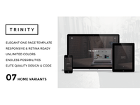 TRINITY - Elegant One Page Parallax Template