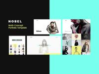 NOBEL - Minimal & Versatile Portfolio / Agency Template