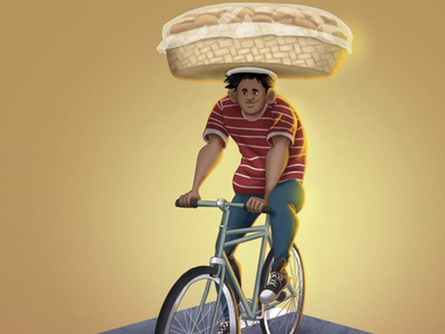 Panadería concept art characterdesign photoshop illustration digital 2d