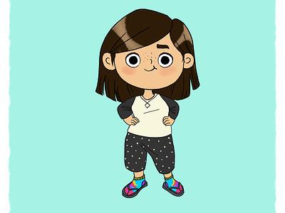 Quarantine Outfit me girl characterdesign digital 2d photoshop illustration