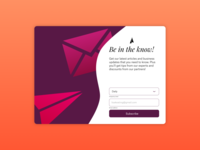 Subscribe Card