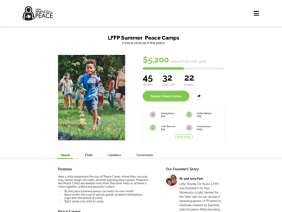 Crowdfunding Campaign | LFFP