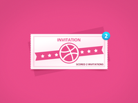 Dribbble Invitation