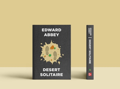 Desert Solitaire Book Cover pt 2