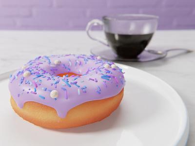 Blender Donut 3d render 3d artwork blender 3d modeling 3d art 3d
