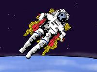 An Astronaut's Throne