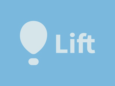 Daily Logo Challenge Day 2 daily logo challenge logo air balloon lift logodesign