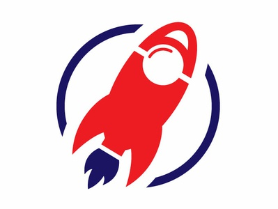 Day 1 Logo Challenge: Rocket Logo