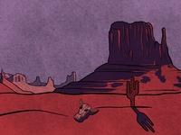 Rugged Desert Scene