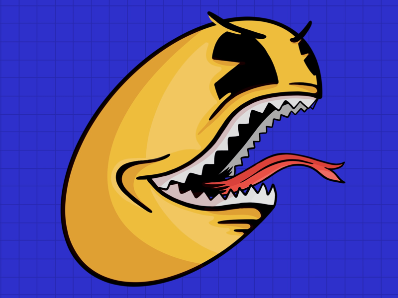 Raging Pac-Man pac-man