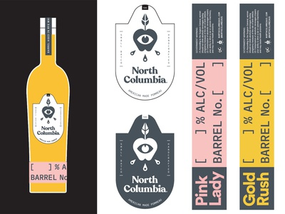 North Columbia Labels