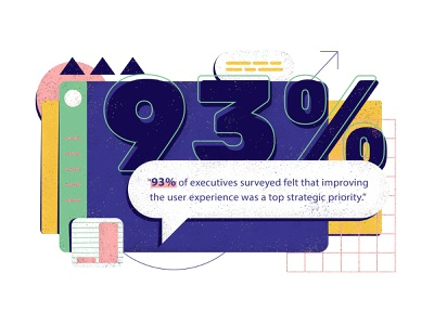 stats on stats on stats thin lines illustration graphs tables chart bright colors brutalist texture flat visual design ui ux infographic data visualization