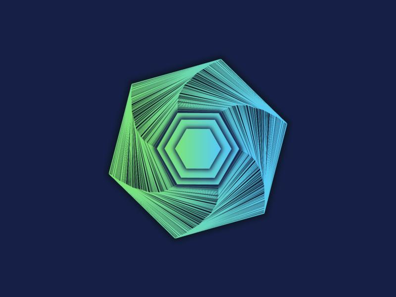 Hexagon design hexagon flatdesign 3d art concept design design illustration