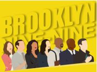 Brooklyn Nine-Nine brooklyn99 brooklyn flatdesign vector concept design illustration design